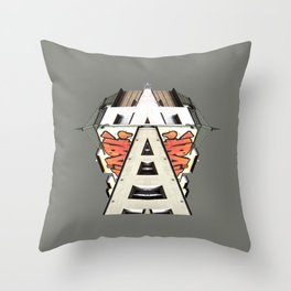 URBAN-1-SURREAL Throw Pillow