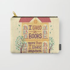 Lived in books Carry-All Pouch