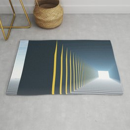 Linear Perspective of Light Rug