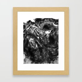 Suminagashi 1 Framed Art Print