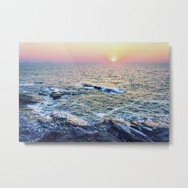 Sunset at fort Aguada Metal Print