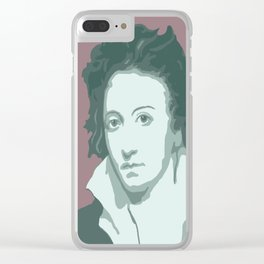 Percy Bysshe Shelley Clear iPhone Case