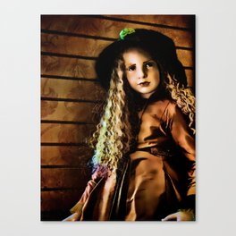 Vintage Doll Canvas Print