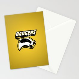 Badgers Hufflepuff  Stationery Cards
