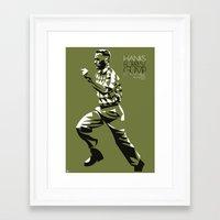 forrest gump Framed Art Prints featuring FORREST GUMP POSTER by Paweł Kamiński (pawjanka)