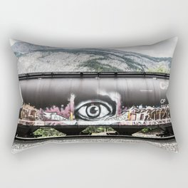 I see mountains Rectangular Pillow