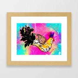 Fancy Bird Framed Art Print