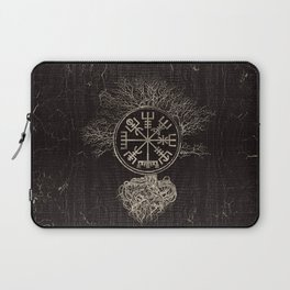 Vegvisir  and Tree of life  -Yggdrasil Laptop Sleeve