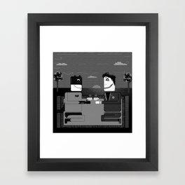 B x J Picnic Framed Art Print