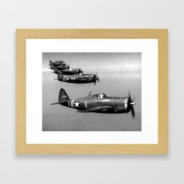 P-47 Thunderbolt Framed Art Print
