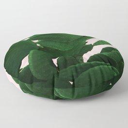 Cactus On Pink Floor Pillow