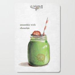 La Cuisine Fusion - Smoothie with Chouriça Cutting Board