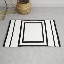 The Minimalist: Squared 2 Rug