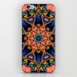 BBQSHOES: Kaleidoscopic Fractal Digital Art Design 1702K iPhone Skin