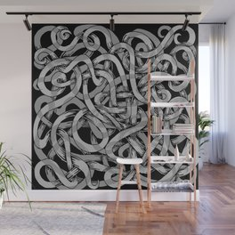 ash worms Wall Mural