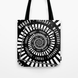 Days of The Week Tote Bag