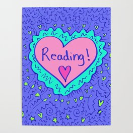 Reading! Poster