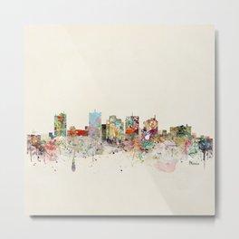 phoenix arizona skyline Metal Print