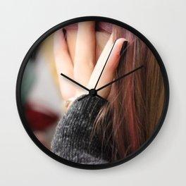 Hide  Wall Clock