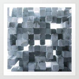 Reflecting Sound Art Print