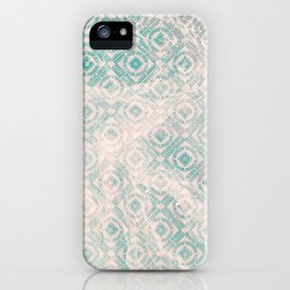freestyle pattern iPhone Case