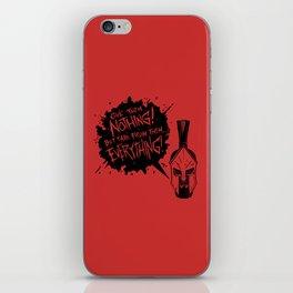 Leonidas iPhone Skin
