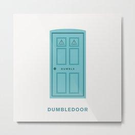 Dumbledore / Dumbledoor Metal Print