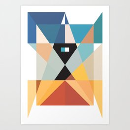 Deconstruct Ned Kelly Art Print