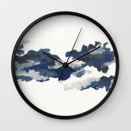 clouds_april Wall Clock