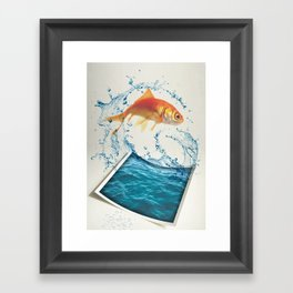 Two Dimensional Freedom Framed Art Print