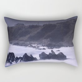 Typhoon in Japan #3 Rectangular Pillow