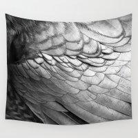 wings Wall Tapestries featuring Wings by Brenda Alvarez