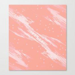 Millennial Coral Canvas Print