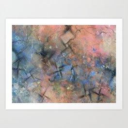 Surface and Shape #2 Art Print