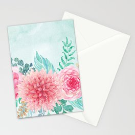 Flowers bouquet #62 Stationery Cards