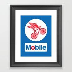 Mobile Framed Art Print