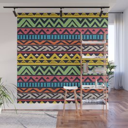 African pattern No2 Wall Mural