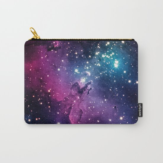 Blue Universe with stars Carry-All Pouch
