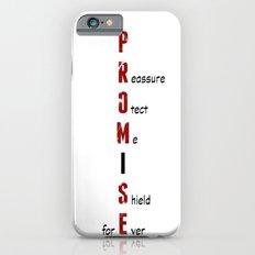 BWR No. 4 Promise (White) Slim Case iPhone 6s