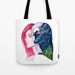 Nose to the Grindstone Head to the Stars Tote Bag