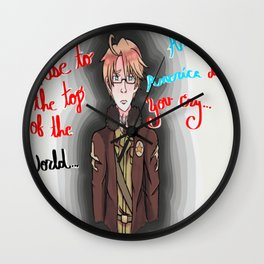America, America Don't You Cry Wall Clock