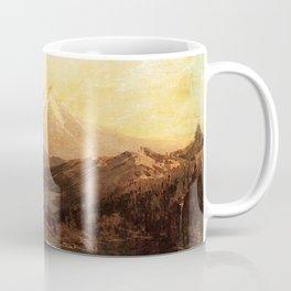 Mount Shasta And Castle Lake Californi 1880 By Thomas Hill | Reproduction Coffee Mug