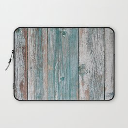 Old wood vintage background Laptop Sleeve