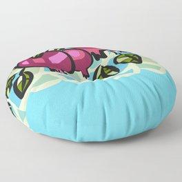 Ripe Pomegranates Floor Pillow