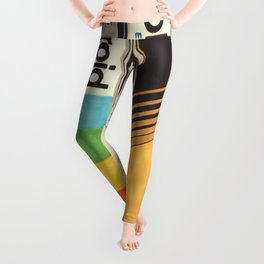 VHS Detail I Leggings