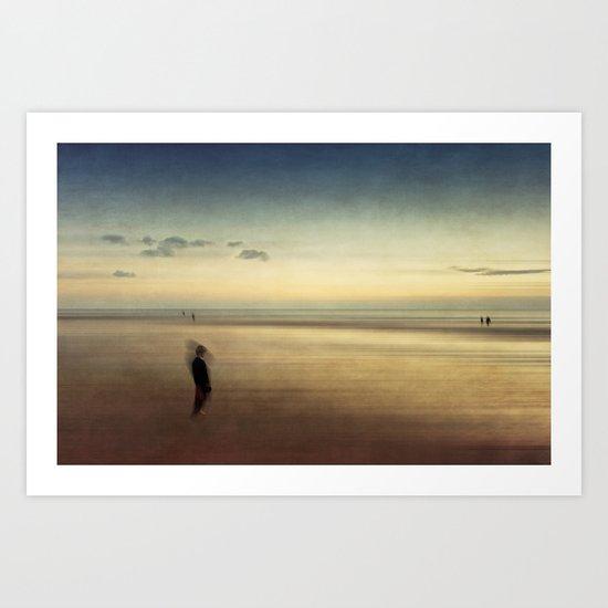dispersion of solitude Art Print
