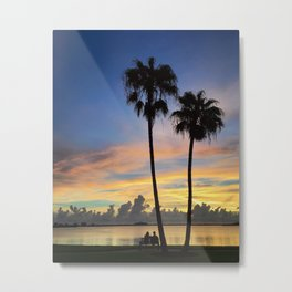 Sunset Love Metal Print