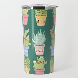 Succulents and Cactus Party Travel Mug