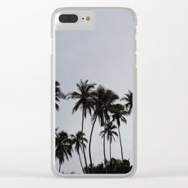Beach don't kill my vibe Clear iPhone Case