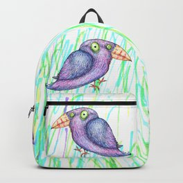 Funny bird Backpack